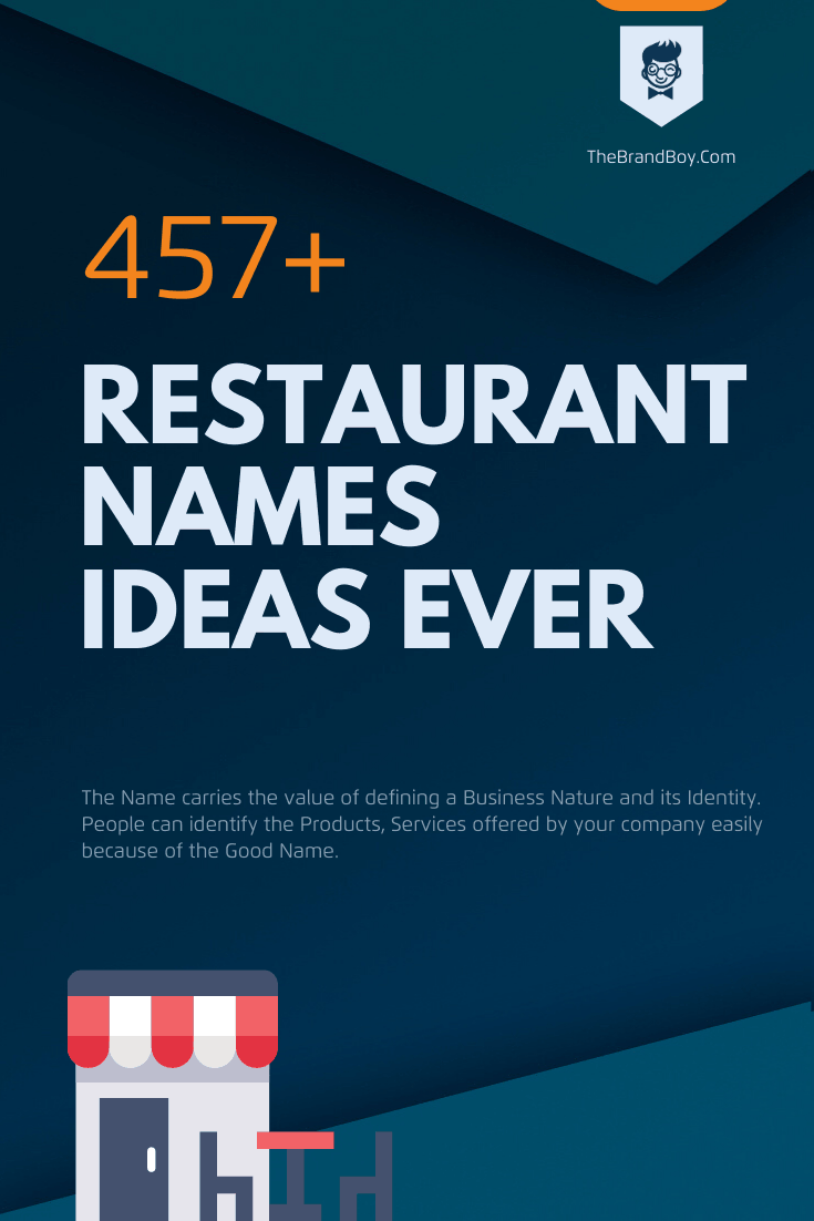 481 Creative Restaurant Names Ideas Ever Video Infographic