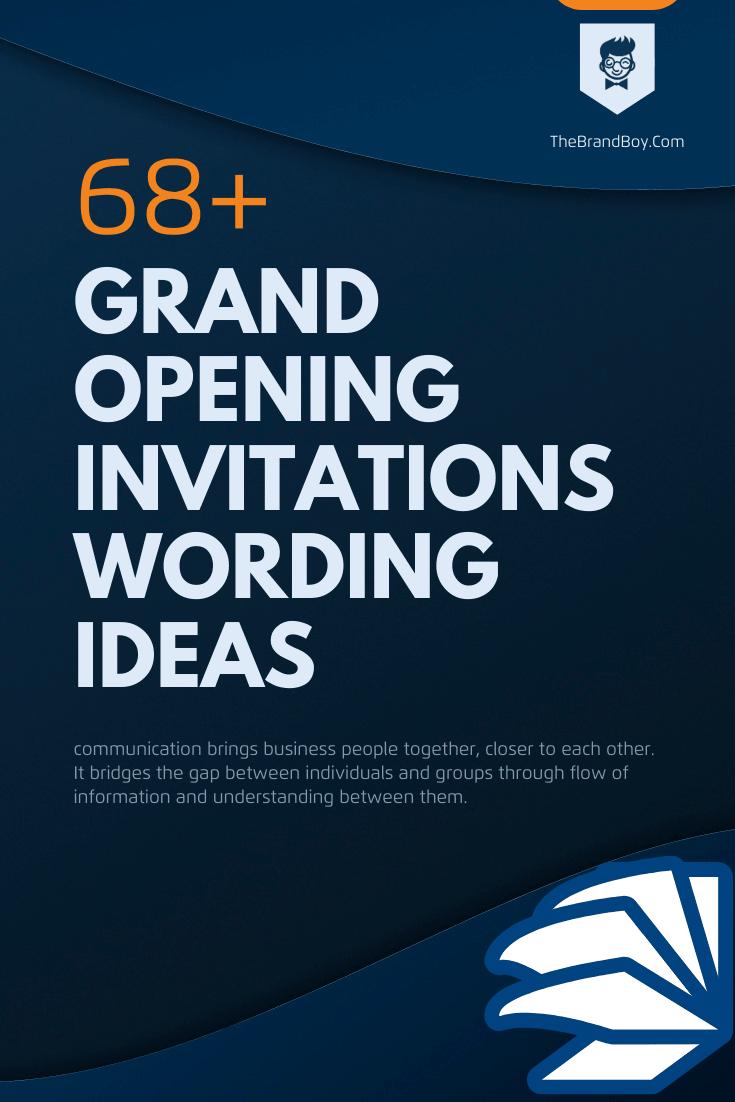 101+ Brilliant Grand Opening Invitations Wording Ideas - (Samples)