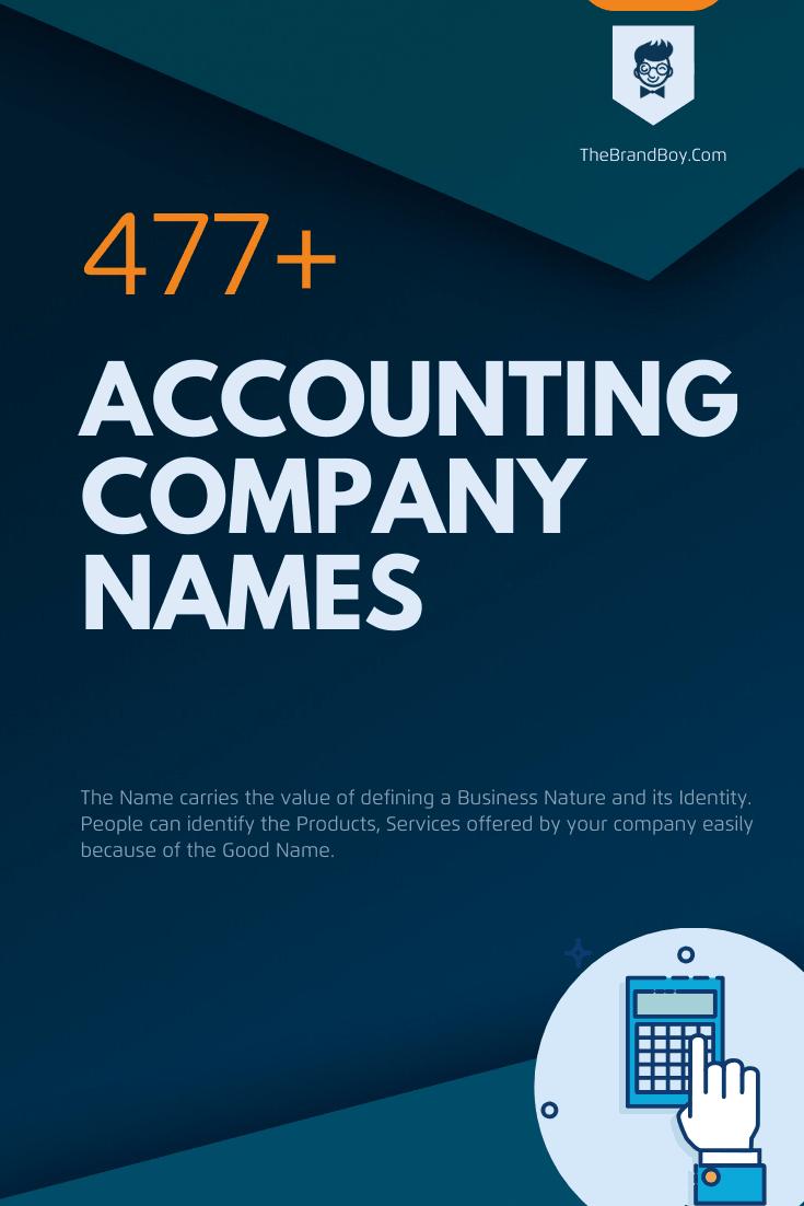 Handpicked Accounting Company Names