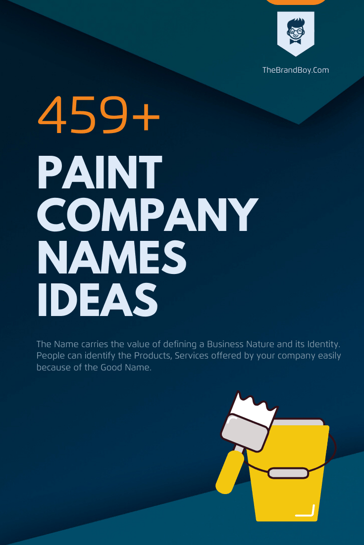 165 Catchy Paint Company Names Small