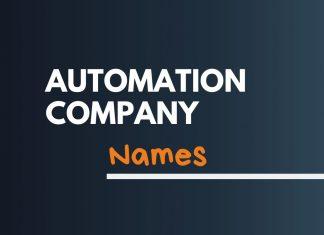 Automation Company Names