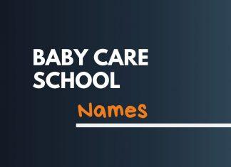 BabyCare Company Names