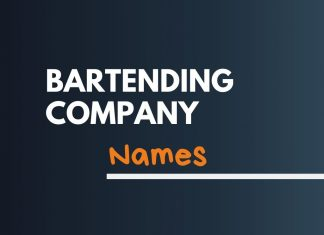 Mobile Bartender Business Names