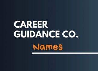 Career Guidance Business Names