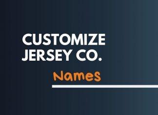 Jersey Company Names