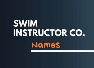 Swim Instructor Business Names