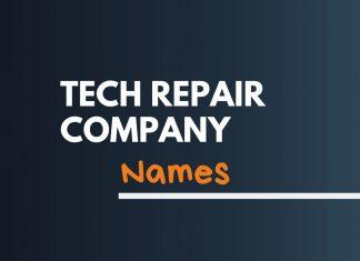 Tech Repair Business Names