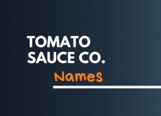 Tomato Sauce Company Names