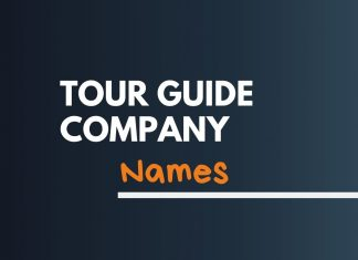 Tour Guide Business Names