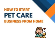 Pet care Business from Home
