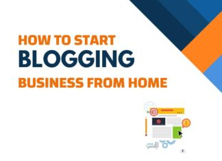 Start Blogging Business From Home