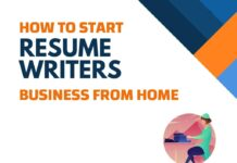 home Business ideas for Resume Writers