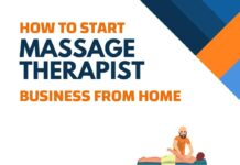 Massage Therapist Business from Home