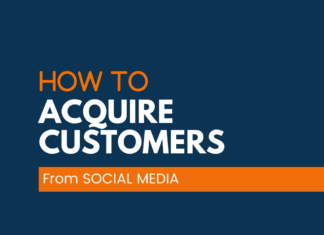 Acquire Customers through Social Media