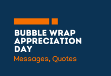 bubble wrap appreciation day messages