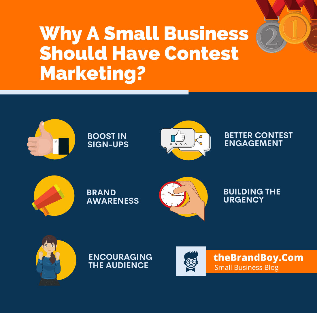 business have contest for marketing