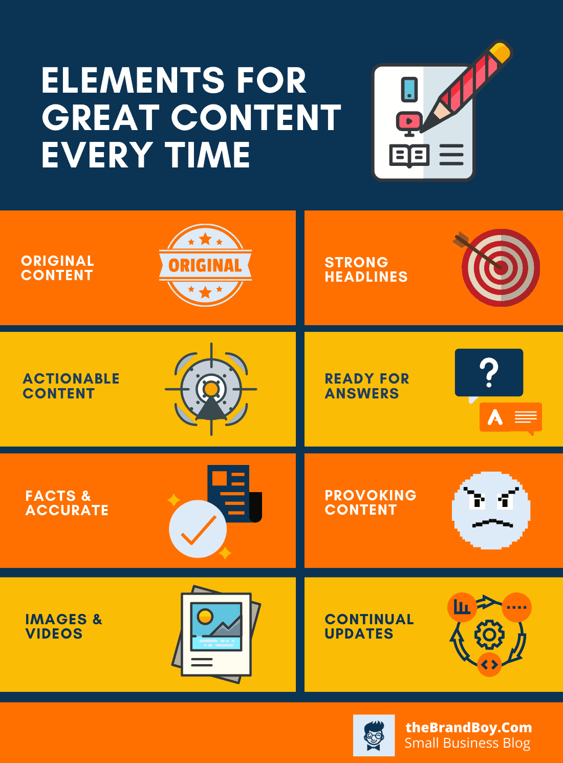 elements of great contents
