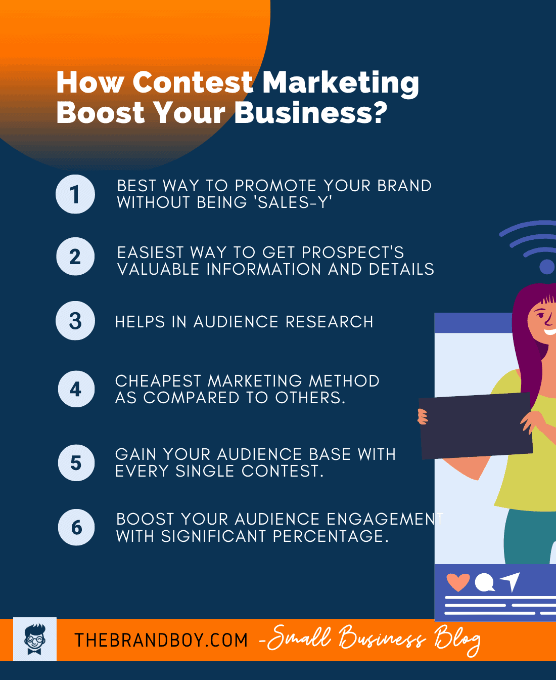 how contest marketing boost business