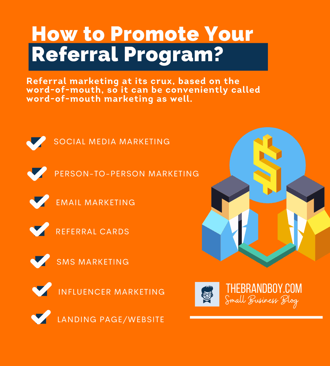 how to promote referral program