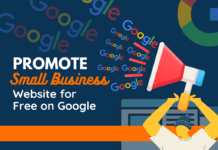 promote small business website on google