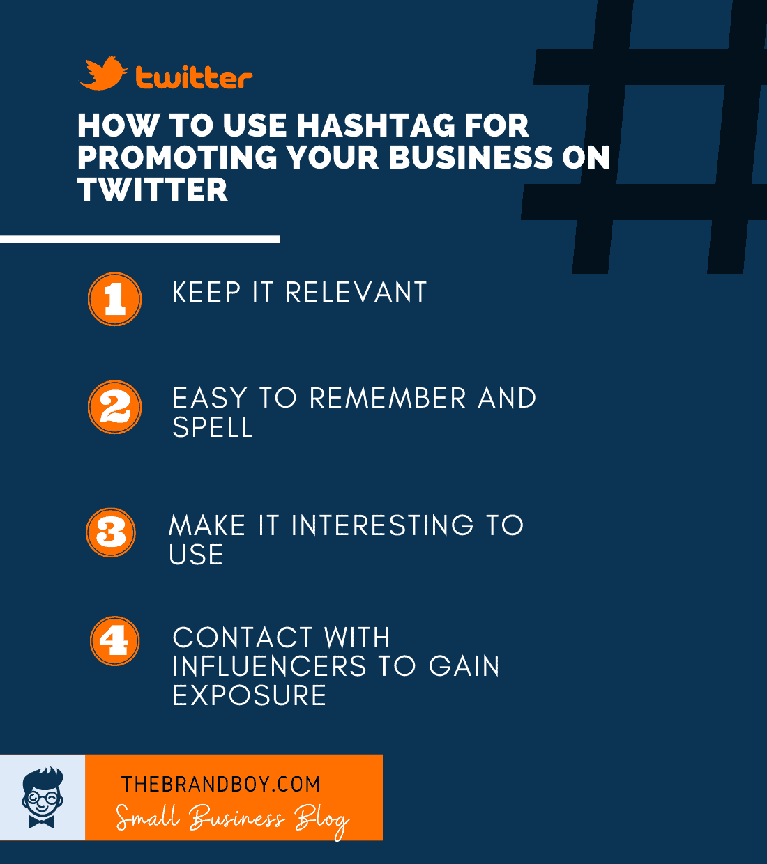 how to use hashtag for twitter marketing