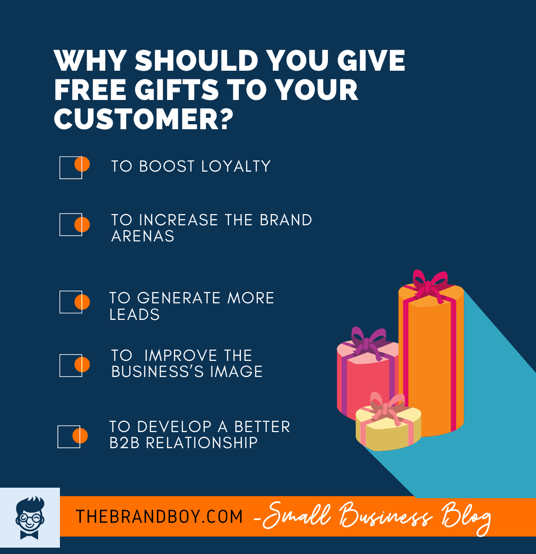 why give free gifts to customers