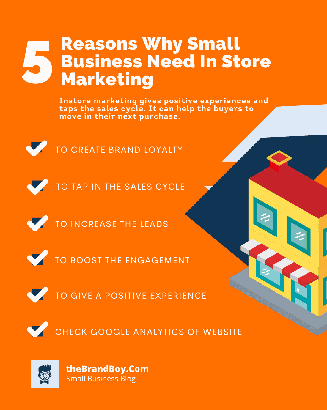 why small business need in-store marketing
