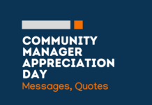 community manager appreciation day messages