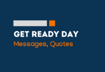 get ready day messages