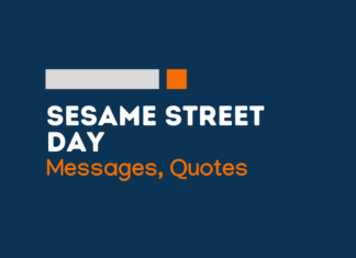 sesame street day messages