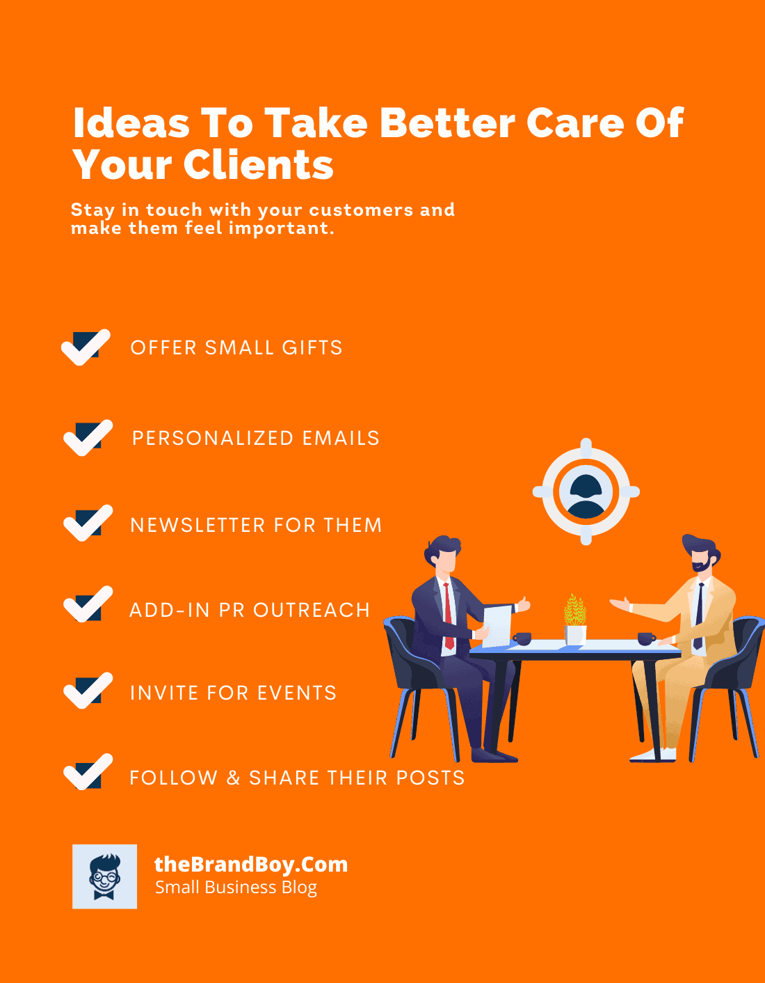 tips take better care of clients