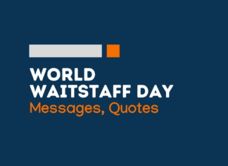 waitstaff day messages