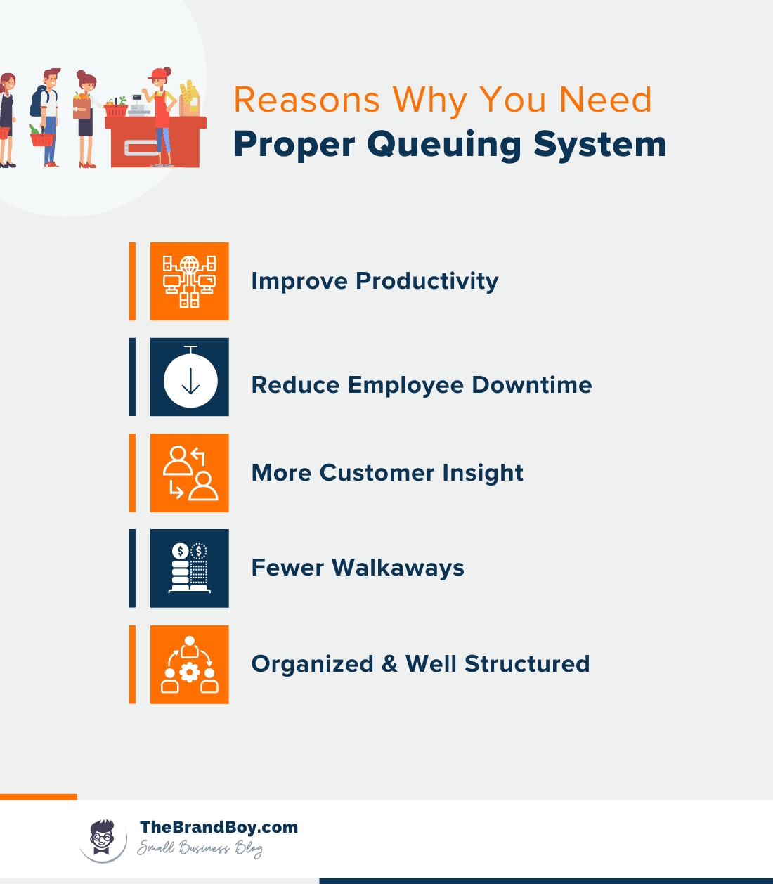 reasons you need proper queuing system