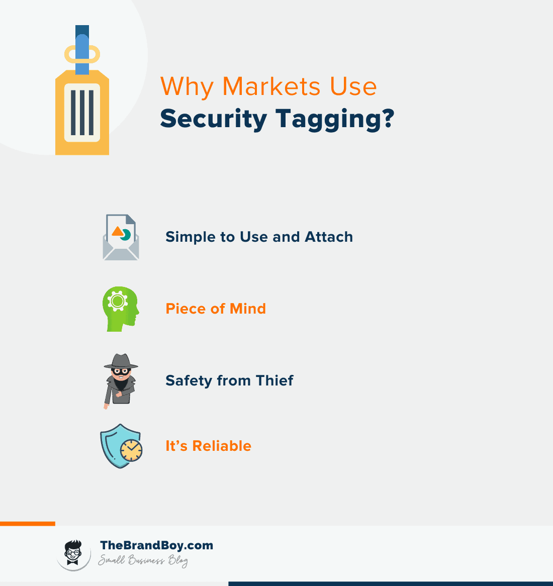 why market use security tagging