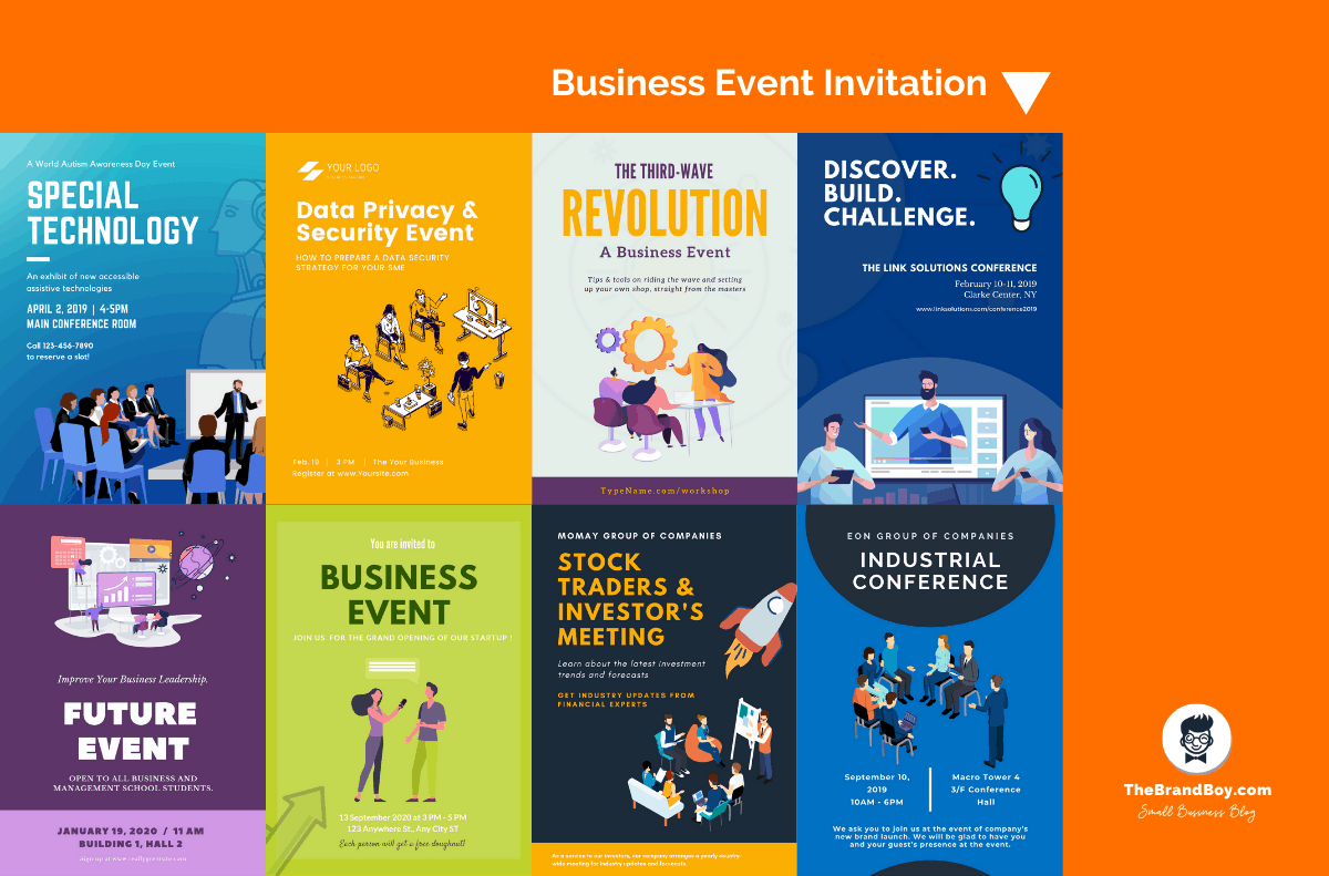 55+ Best Business Event Invitation Wording Ideas(With Templates)